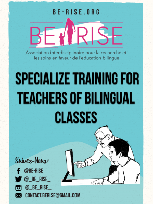 03 (EN)Specialize training for teachers of bilingual classes