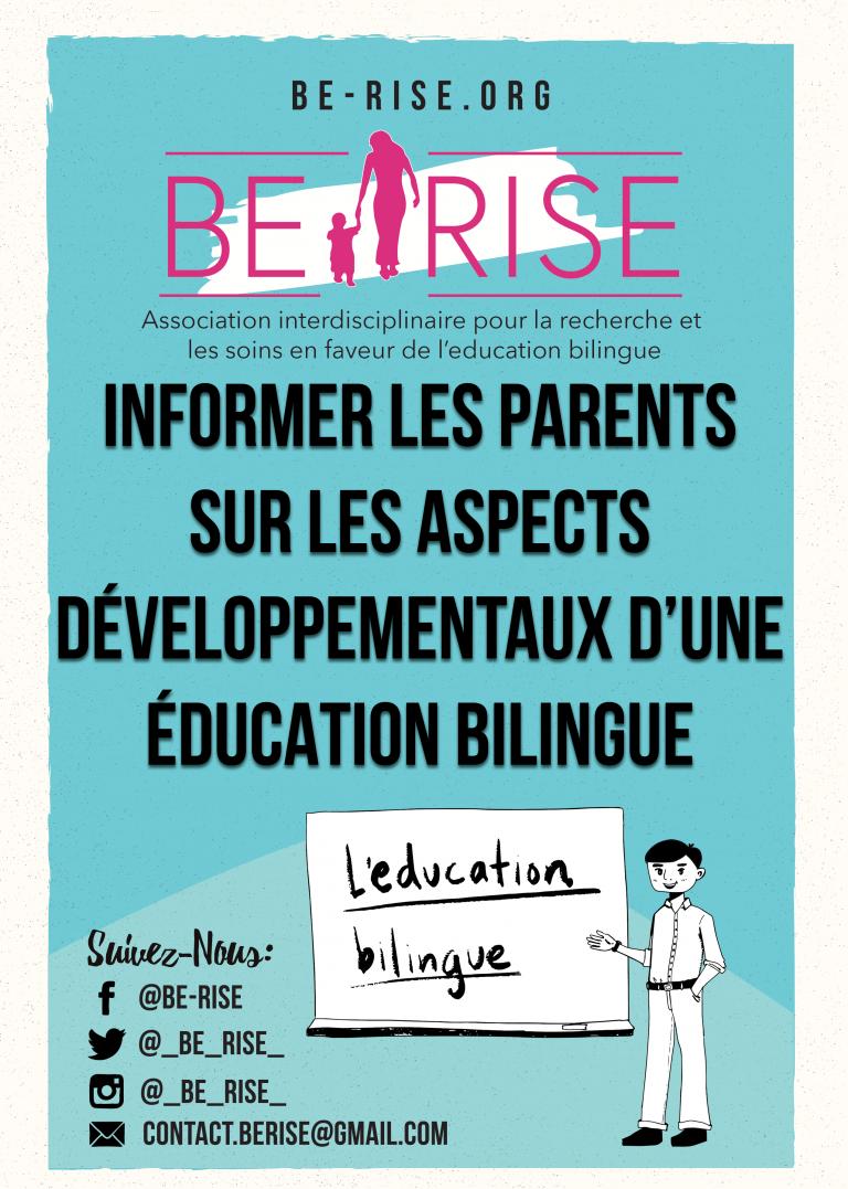Informer les parents sur les aspects développementaux d'une éducation bilingue