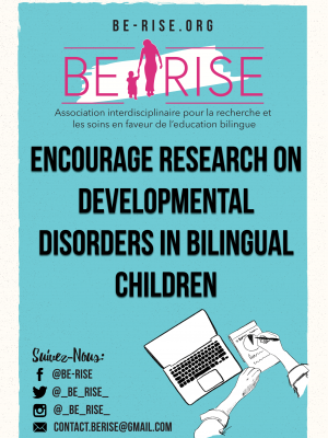 11 (EN) Encourage research on developmental disorders in bilingual children