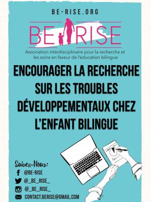 11 Encourager la recherche sur les troubles développementaux chez l'enfant bilingue