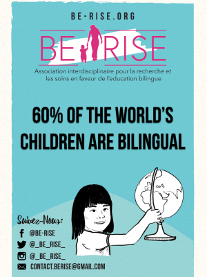 12-(EN) 60% of the world's children are bilingual