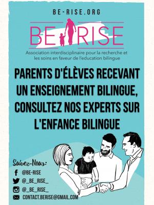 Parents d'élèves recevant un enseignement bilingue, consultez nos experts sur l'enfance bilingue !