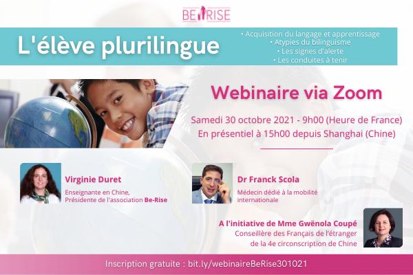 600x400 FR Webinaire 301021 L'Elève plurilingue Be-Rise